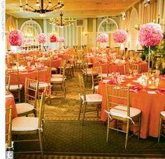 Burnt Orange and Green Wedding | Seasonal Wedding Themes | Wedding Decorations