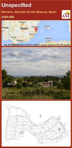 Unspecified for Sale in Moraira, Alicante (Costa Blanca), Spain - A Spanish Life Moraira, Seville, Alicante, Malaga, Valencia, Costa, Madrid, Spanish, Life