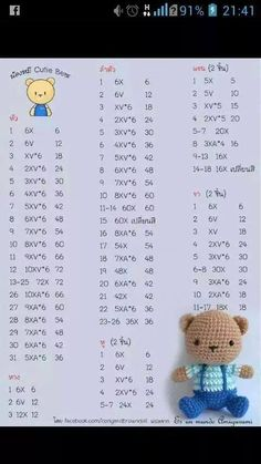 Diy Crafts - Mesmerizing Crochet an Amigurumi Rabbit Ideas. Lovely Crochet an Amigurumi Rabbit Ideas. Crochet Bunny Pattern, Crochet Amigurumi Free Patterns, Crochet Teddy, Cute Crochet, Beautiful Crochet, Crochet Dolls, Crochet Rabbit, Amigurumi Tutorial, Amigurumi Doll