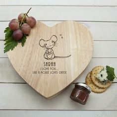 In case you missed it, here you go 🙌 'Like A Mouse Loves Cheese' Romantic Heart Cheese Board  http://coconells.com/products/like-a-mouse-loves-cheese-romantic-heart-cheese-board?utm_campaign=crowdfire&utm_content=crowdfire&utm_medium=social&utm_source=pinterest