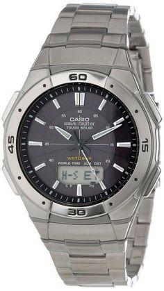 "Casio Men's WVA470DJ-1ACF ""Waveceptor"" Solar Atomic Ana-Digi Sports Watch"