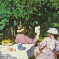 Károly Ferenczy (1862–1917) Morning Sunshine Date1905