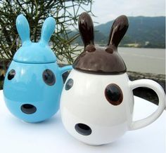 Source funny animal ceramic 3d coffee mug with handle on m.alibaba.com