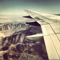 The Sierra Nevadas, flying from Altanta to San Diego.
