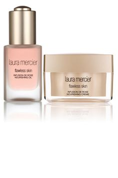 Laura Mercier Flawless Skin Infusion de Rose Nourishing Oil and Crème Beauty Tips For Hair, Beauty Bar, Beauty Makeup, Beauty Hacks, Laura Mercier, Valentine Day Gifts, Valentines, Scented Oils, Beauty Must Haves