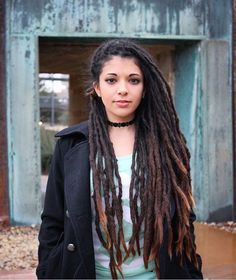 @getitjulie sharing the love #dreadshare #dreads #dreadlocks #dreadhead #instadreads #dreadstagram #hair #hairstyle #lifestyle Dreadshare.tumblr.com Dreadlock Rasta, Dreadlock Styles, Dreads Styles, Curly Hair Styles, Natural Hair Styles, Rasta Dreads, Thin Dreads, Dreadlocks Girl, Dreadlock Hairstyles