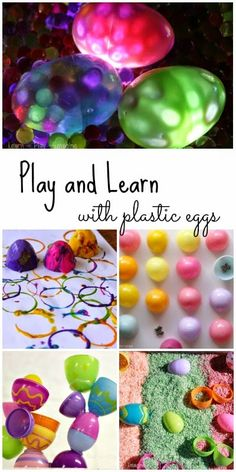 Save all those plastic eggs even after Easter is over! These 15 unique ways to play and learn with plastic eggs are fun all year long.