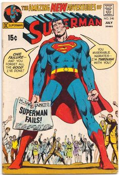 Classic Superman Cover