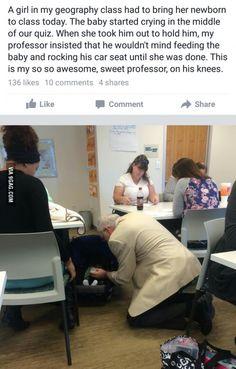 This professor is the most understanding professor in history.