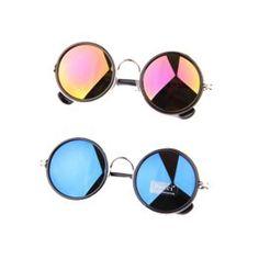 Image of Mirror sunglasses Round Sunglasses, Mirrored Sunglasses, All Things, Image, Round Frame Sunglasses
