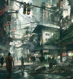 Theo Prins – Street Scene