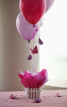 Feminices: Decorando com Balões