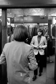 Rolling Stone Brian Jones clothes shopping, circa early 60's