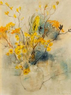 Still life wild flowers, 1974. William Boissevain