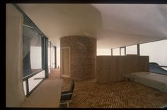 Philip Johnson, Glass House, New Canaan, USA, 1949 – Atlas of Interiors