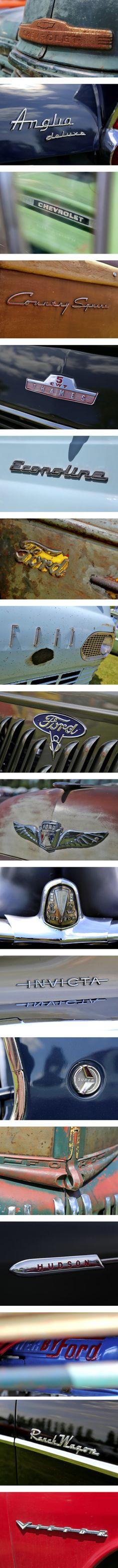 Vintage auto type