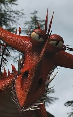 """Changewing is a mystery class dragon first featured in the 2011 short film """"Book of Dragons."""""""