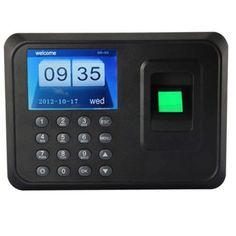 "Tekit® A6 Fingerprint Time Attendance Biometric Time Attendance Clock Employee Payroll Recorder(2.4"" Tft,support U Disk to Download Data+ U Disk Export Attendance Report Without Attendance Software+ Record Capacity: 150000+ Fingerprint Capacity: 600)"