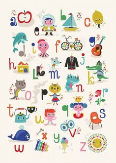 Another cute alphabet poster!