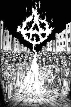 Arte Punk, Punk Art, Art Sketches, Art Drawings, Activist Art, Punk Poster, Iphone Wallpaper Vsco, Political Art, Dark Tattoo