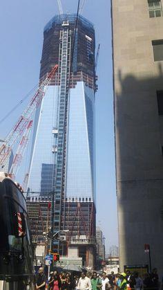 one world trade center progress...