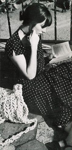 Jane Birkin by Alex Chatelain for Vogue Paris / 1970