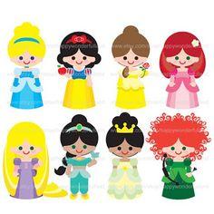 Princesas Disney y cómo coser fieltro
