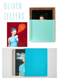 Paintings by Oliver Jeffers