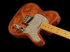 Leather-Covered Tele