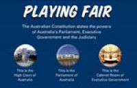 Playing fair: See how the power to make and manage law is shared in Australia. Democracy For Kids, Education Office, Year 6, Citizenship, Stage, The Unit, Australia, Teaching, History