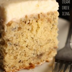 Don't go crazy...unless its for this crazy #banana #cake with cream cheese icing recipe!