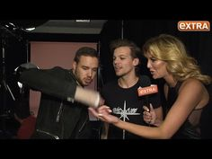 Backstage at iHeartRadio: One Direction's Liam Payne on How He Injured His Hand - YouTube