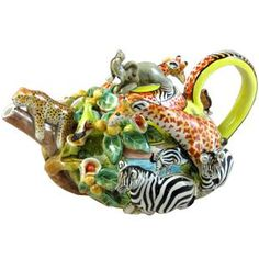 Teapot made in South Africa