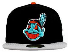 e7608f8b6fe0e New Era MLB Cleveland Indians Caps Black 4091! Only  7.90USD Cleveland  Indians