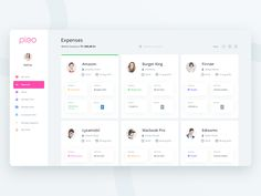 Pleo Expense page (Redesign exploration)