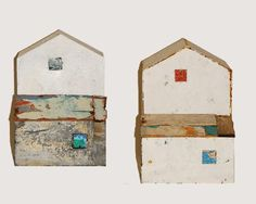 Houses No. 14 and No.15 - sculpture by Annalisa Ramondino