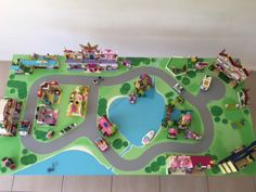 lego friends playmat - Google Search