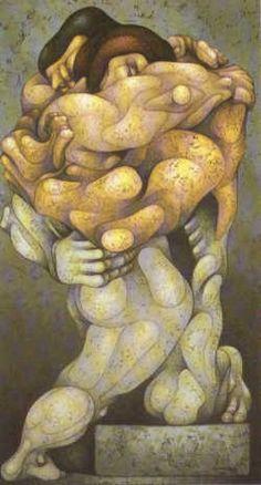 Arte Consciente y Canción Necesaria: Arte Político. R Carpani Llamas, Sculptures, Artsy, Magdalena, Illustration, Language, Paintings, Play, Couples