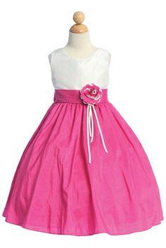 Melissa Girls Party Dress - PuddlesCollection.com