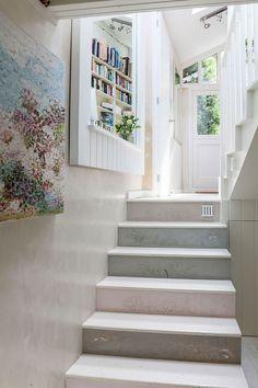Idee per decorare scale Shabby Chic n.10