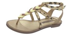 Grendha Glamour Sandal Womens Flip Flops / Sandals - Gold Leopard -  LOVE these sandals! found on eBay for just  $28 and in all sizes!!