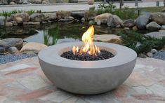 Fresh Stone Fire Pit Bowl Lunar Bowl