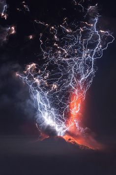 Calbuco Volcano Eruption, Chile