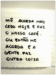 OUTRA COISA