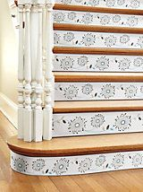 Peel & Stick Borders, Stair Riser Cover-up, Stairway Accents | Solutions | Solutions