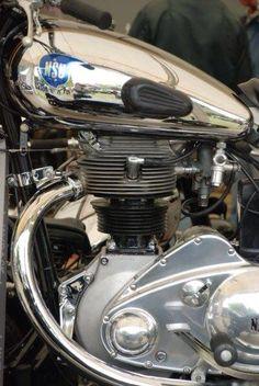 NSU motorcycle engine | Single cylinder