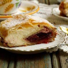 Tort Intercontinental – La Ancuta Strudel, Romanian Food, Camembert Cheese, Deserts, Dairy, Pie, Sweets, Instagram, Ethnic Recipes