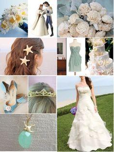 Little Mermaid themed wedding!