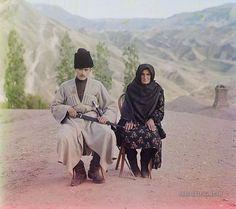 Couple: Dagestan, Russia 1905-1915 | Photographium | Historic Photo Archive
