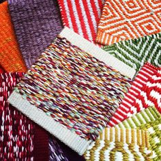 Colourful Kasthall flatweaves - custom made in Sweden!